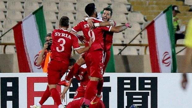بعد التعادل مع إيران.. منتخب سوريا يقترب من مونديال روسيا