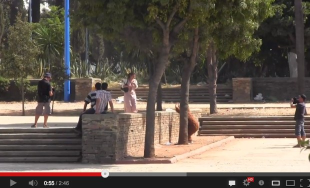دابا الشوهة بالدليل.. الكاميرا الخفية المفبركة (فيديو)