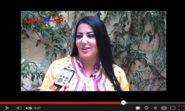 سمية الخشاب: أحب القفطان والأكل المغربي ومصر مرت بمرحلة عصيبة في عهد مرسي (فيديو وصور)