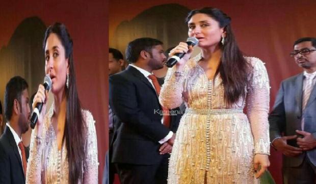 القفطان والزين الفتان..  الممثلة الهندية كارينا كابور تتألق بالقفطان المغربي