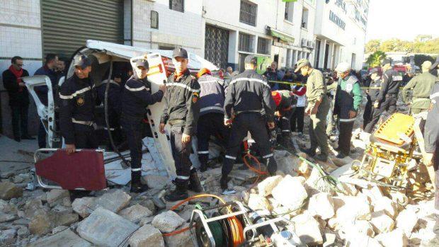 البوليس يحقق.. تفاصيل انهيار سور على عمال في كازا