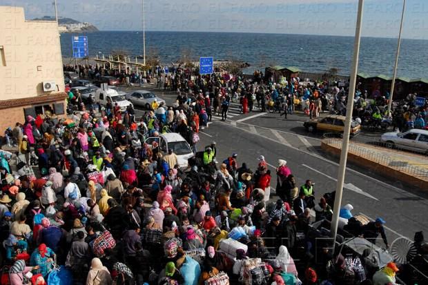 بسبب سقوط ضحايا في حوادث التدافع.. إسبانيا تعتزم ضم سبتة المحتلة إلى الاتحاد الجمركي الأوروبي!