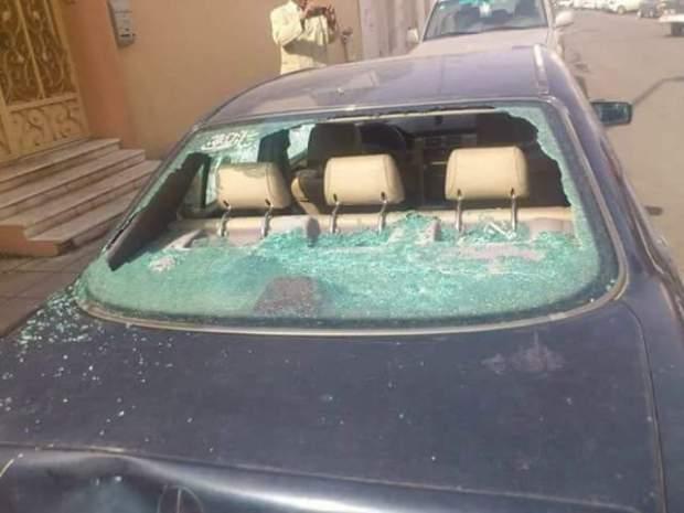 إصابات وخسائر في 5 سيارات.. أعمال شغب بعد ديربي وجدة