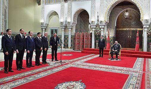 قالتها الصورة القصر الملكي/ كازا.. الملك يعين 5 وزراء