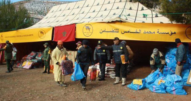بتعليمات ملكية.. مؤسسة محمد الخامس للتضامن تتدخل لمواجهة البرد
