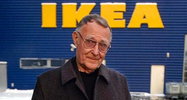 """أسس الشركة في عمر 17 سنة وصار لها 300 متجر عبر العالم.. وفاة مول """"إيكيا"""""""
