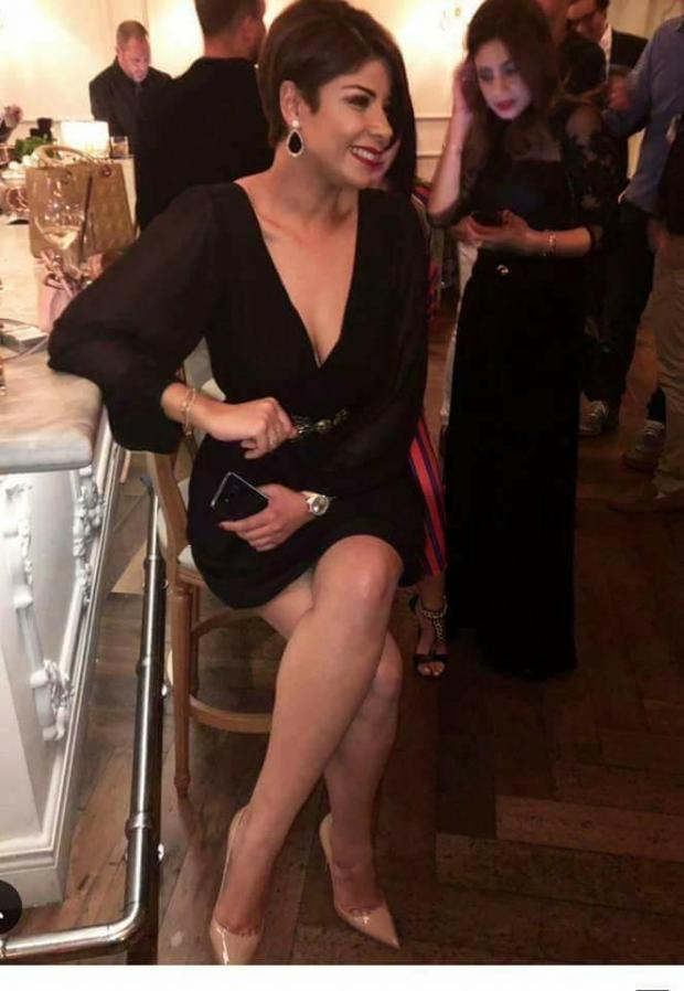ليلى الحديوي.. تتعدد المناسبات والحذاء واحد!! (صور)