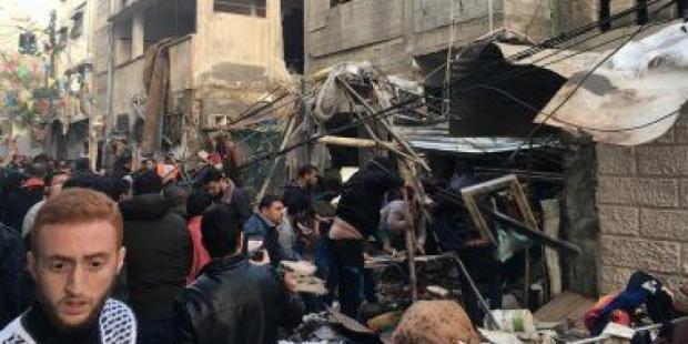 ماشي بالصواريخ.. قنينة غاز تقتل فلسطنيين في غزة
