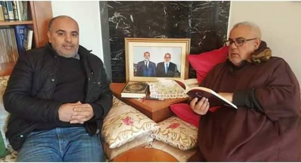 بالصور.. ابن كيران في قلب جدل جديد بسبب صورته مع الملك!!