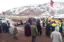 """توزيع للمساعدات/ مساعدة للحوامل/ إيواء للمشردين.. حصيلة """"الحرب"""" ضد البرد بالأرقام"""