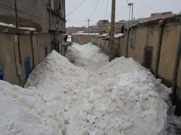 39 طريقا مقطوعة/ 26 راعيا مفقودا/ مؤن لـ49 ألف عائلة.. الثلوج تعزل القرى