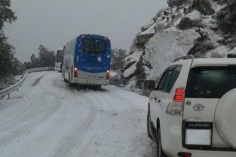 بسبب الأمطار والثلوج المتوقعة.. وزارة النقل تدعو إلى الحذر وتجنب السفر ليلا