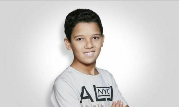 ذا فويس كيدز.. نجوم مغاربة يشجعون الطفل حمزة (صور)
