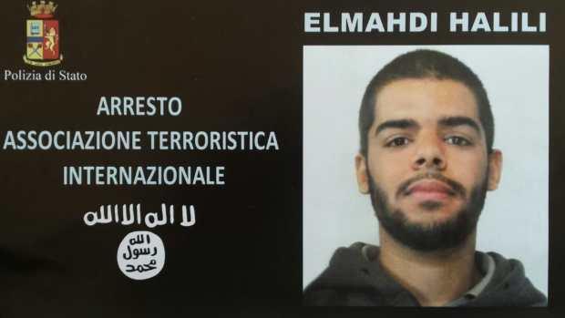 بالفيديو.. اعتقال داعشي مغربي في إيطاليا