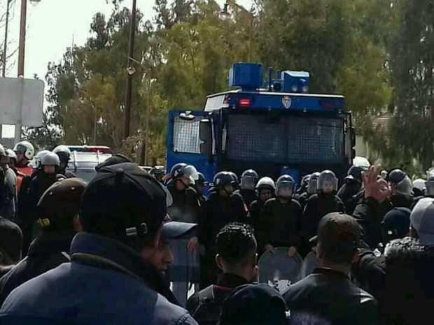 إضراب واعتصام وتطويق للمحتجين..التوتر مستمر في جرادة