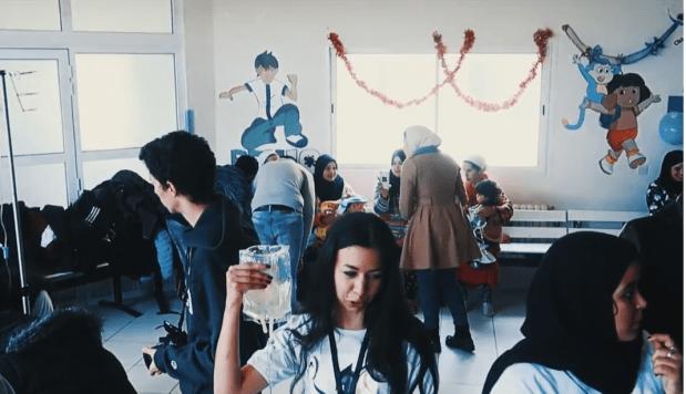 مبادرة إنسانية.. النادي الجامعي يرسم الابتسامة على وجوه أطفال مرضى (فيديو)