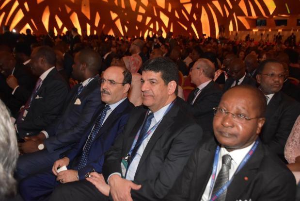 بالصور من أبيدجان.. العماري وباكوري في المنتدى الإفريقي للرؤساء التنفيذيين