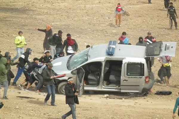 اعتقال 49 شخصا/ إصابة 280 رجل أمن/ تخريب 117 سيارة.. لفتيت يقدم حصيلة تأزم الأوضاع في جرادة