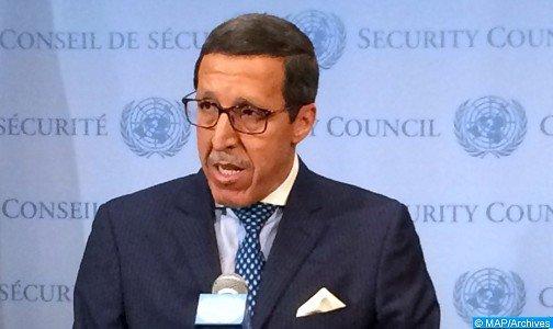 عمر هلال في رسالة إلى رئيس مجلس الأمن: تحريك أي بنية للبوليساريو إلى شرق الجدار الأمني الدفاعي للصحراء يشكل عملا مؤديا الى الحرب