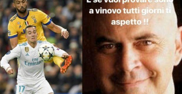 بسبب ضربة جزاء مباراة مدريد ويوفنتوس.. بنعطية يرد على كوميدي إيطالي بطريقة عنيفة (فيديو)