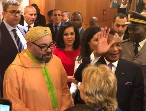 برازافيل.. الملك ورئيس الكونغو يعطيان انطلاقة تشييد محطة مجهزة لتفريغ السمك