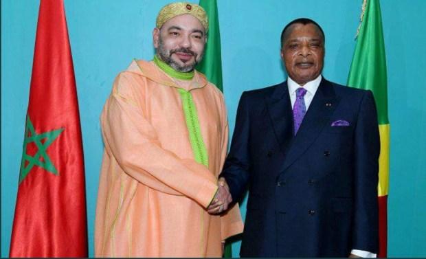 برازافيل.. الملك يجري مباحثات على انفراد مع الرئيس الكونغولي