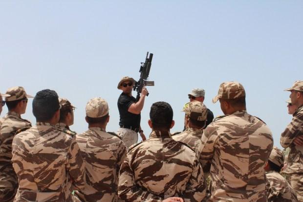 """بالصور والفيديو.. الجيش المغربي يناور مع """"الأسد الإفريقي"""""""