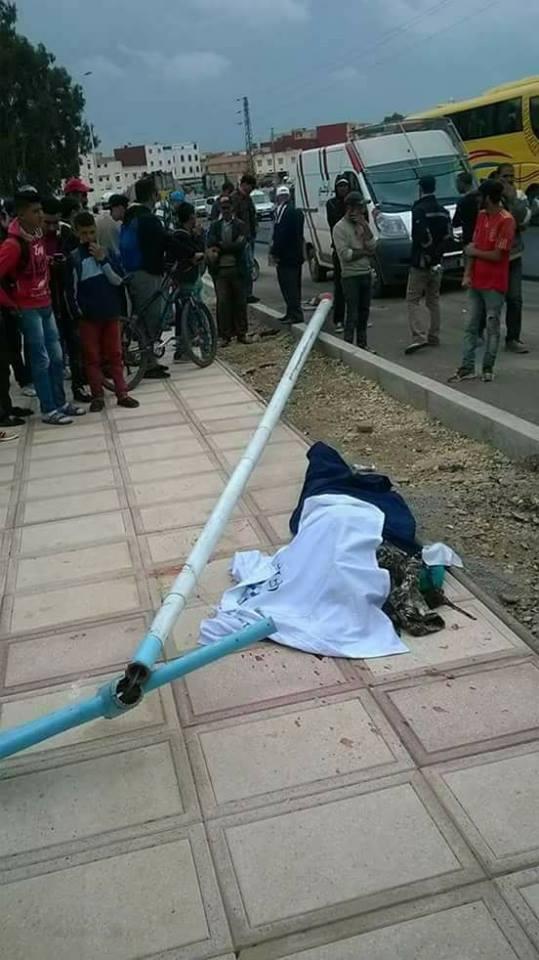 بالصور من الخميسات.. بّوطو قتل تلميذة