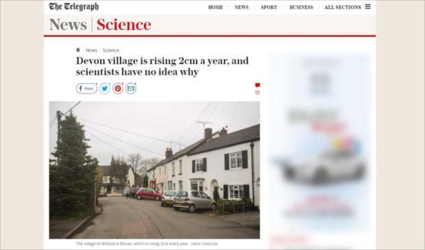 لسبب غامض.. قرية بريطانية تعلو سنتيمتريْن سنويا