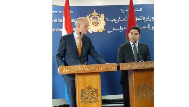 ناصر بوريطة أمام نظيره الهولندي حول الريف : المغرب ليس بحاجة إلى أن يتلقى دروسا من أحد