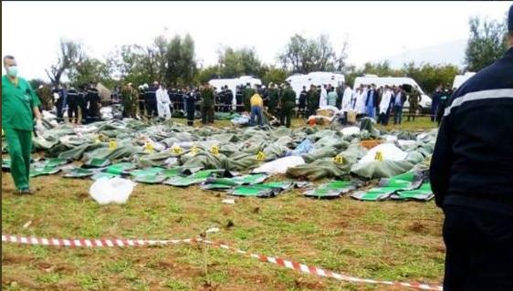 في حصيلة مؤقتة.. ارتفاع ضحايا الطائرة الجزائرية العسكرية إلى 257 راكبا (صور)