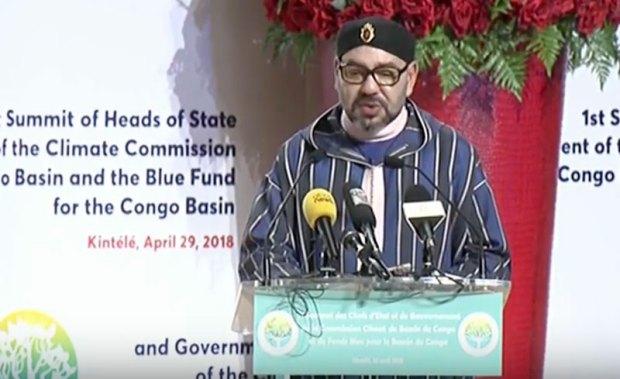 بالفيديو.. الخطاب الذي ألقاه الملك محمد السادس ببرازافيل