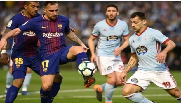 40 مباراة بدون هزيمة.. برشلونة يتعادل مع سيلتا فيغو رغم النقص العددي
