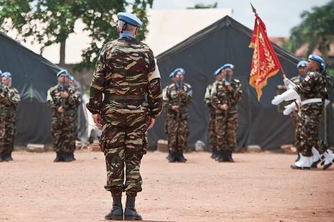 عملية مشتركة مع القوات المسلحة لإفريقيا الوسطى.. القبعات الزرق المغاربة يحررون 15 رهينة من المدنيين