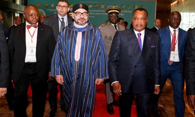برازافيل.. الملك ورئيس الكونغو يترأسان حفل توقيع 14 اتفاقية