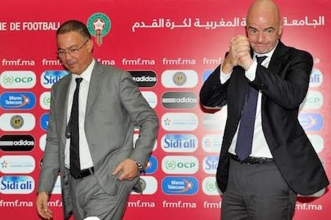مونديال 2026.. لقجع مامفاكش مع إنفانتينو