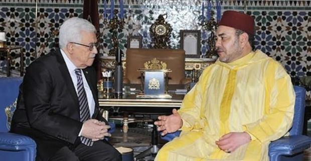 بعد سقوط قتلى وجرحى فلسطينين في يوم الأرض.. الملك  محمد السادس يُراسل محمود عبّاس