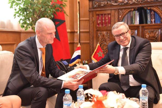 لاستشراف الآفاق المستقبلية.. أوجار يستقبل وزير الخارجية الهولندي