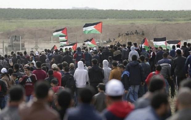 قبل افتتاح السفارة الأمريكية في القدس.. عشرات القتلى والجرحى في غزة