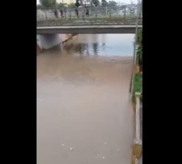 بالفيديو.. أمطار عاصفية تُغرق خريبكة
