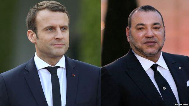 في برقية إلى الرئيس الفرنسي.. الملك يدين الهجوم الإرهابي الذي نفذ بسكين في باريس