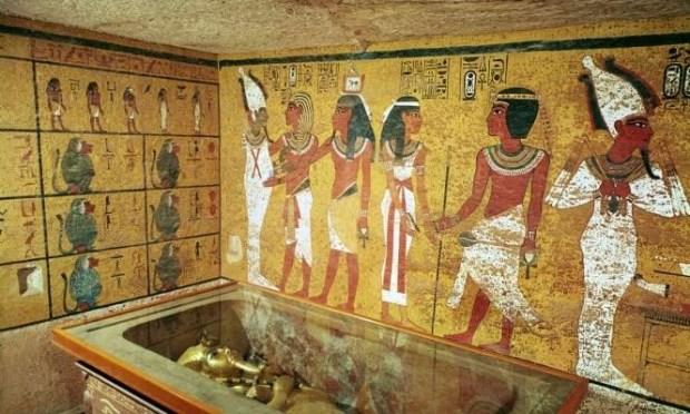 مسح رداراي جديد.. لا وجود لغرف خلف جدران مقبرة الملك توت عنخ آمون
