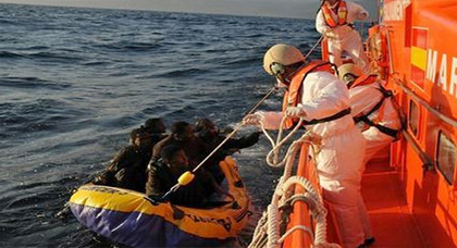 بين المغرب وإسبانيا.. إنقاذ أكثر من 200 حراك