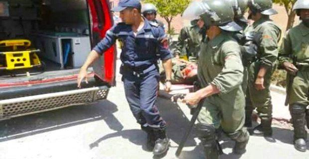 بسبب عقار للجماعات السلالية.. مواجهات مع القوات العمومية ضواحي إفران