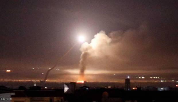 من الأراضي السورية.. إيران تطلق 20 صاروخا على إسرائيل!!