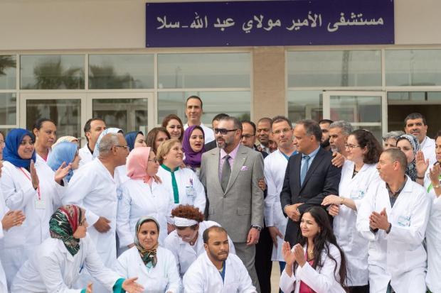 سلا.. تفاصيل حول المستشفى الإقليمي مولاي عبد الله