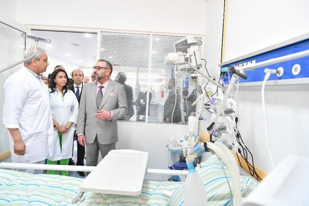 مبروك لناس سلا.. الملك يدشن المستشفى الإقليمي مولاي عبد الله