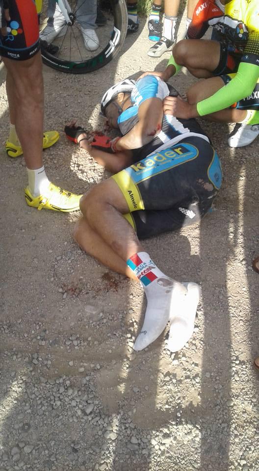 بالصور من بوفكران.. مصرع دراج في حادثة سير