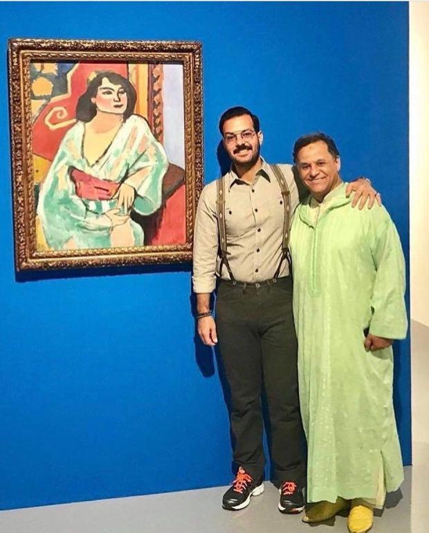 صورة جديدة.. الأمير مولاي إسماعيل رفقة مهدي قطبي
