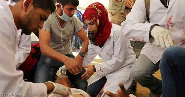 فلسطين.. الآلاف يشيعون مسعفة قتلها الجيش الإسرائيلي